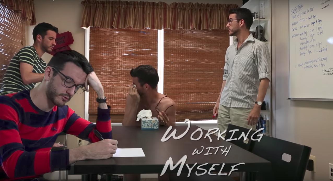 Working with Myself -- SpankyBingo