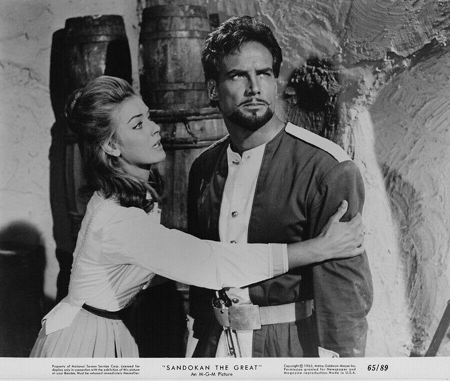 Geneviève Grad and Steve Reeves in Sandokan, la tigre di Mompracem (1963)