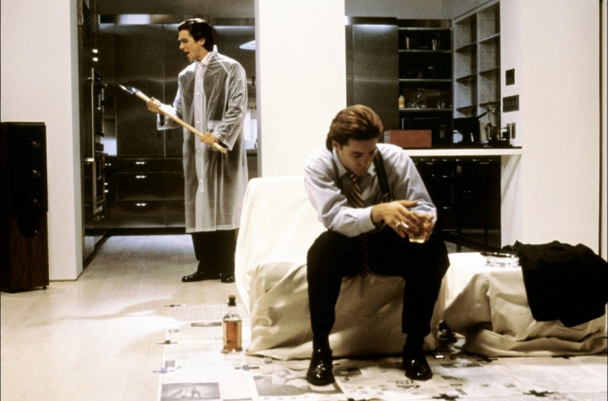 Christian Bale and Jared Leto in American Psycho (2000)