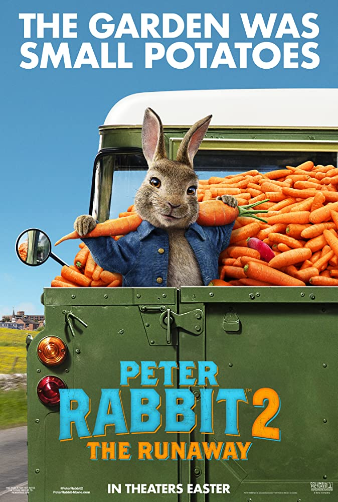 James Corden in Peter Rabbit 2 (2020)