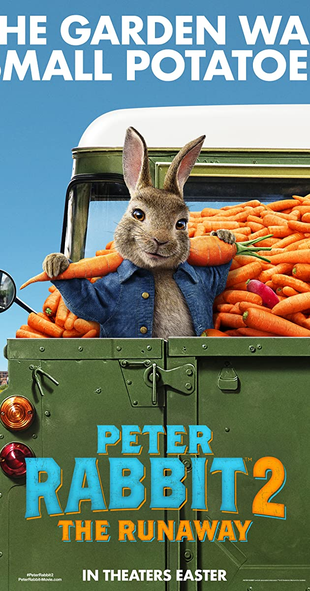 Peter Rabbit 2 The Runaway (2021) Telugu Dubbed (Voice Over) & English [Dual Audio] HDCAM 720p [1XBET]
