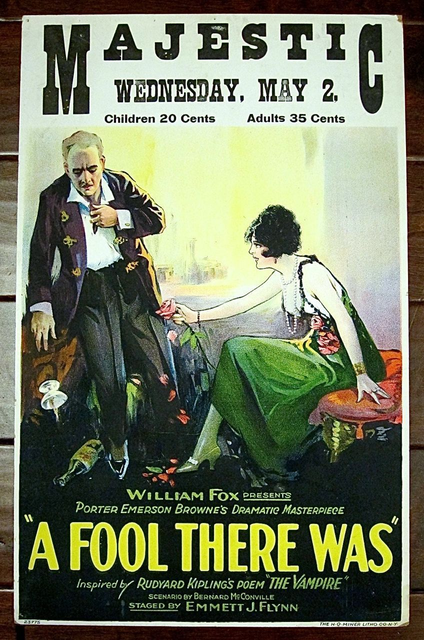 A Fool There Was (1922)