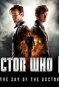 John Hurt, David Tennant, and Matt Smith in Doctor Who (2005)