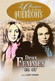 Deux femmes en or Poster