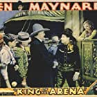 Lucile Browne, James A. Marcus, Ken Maynard, and Bobby Nelson in King of the Arena (1933)