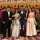 Prabhu Deva, Prabhu, Adah Sharma, and Nikki Galrani in Charlie Chaplin 2 (2019)