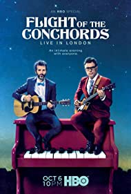 Bret McKenzie and Jemaine Clement in Flight of the Conchords: Live in London (2018)