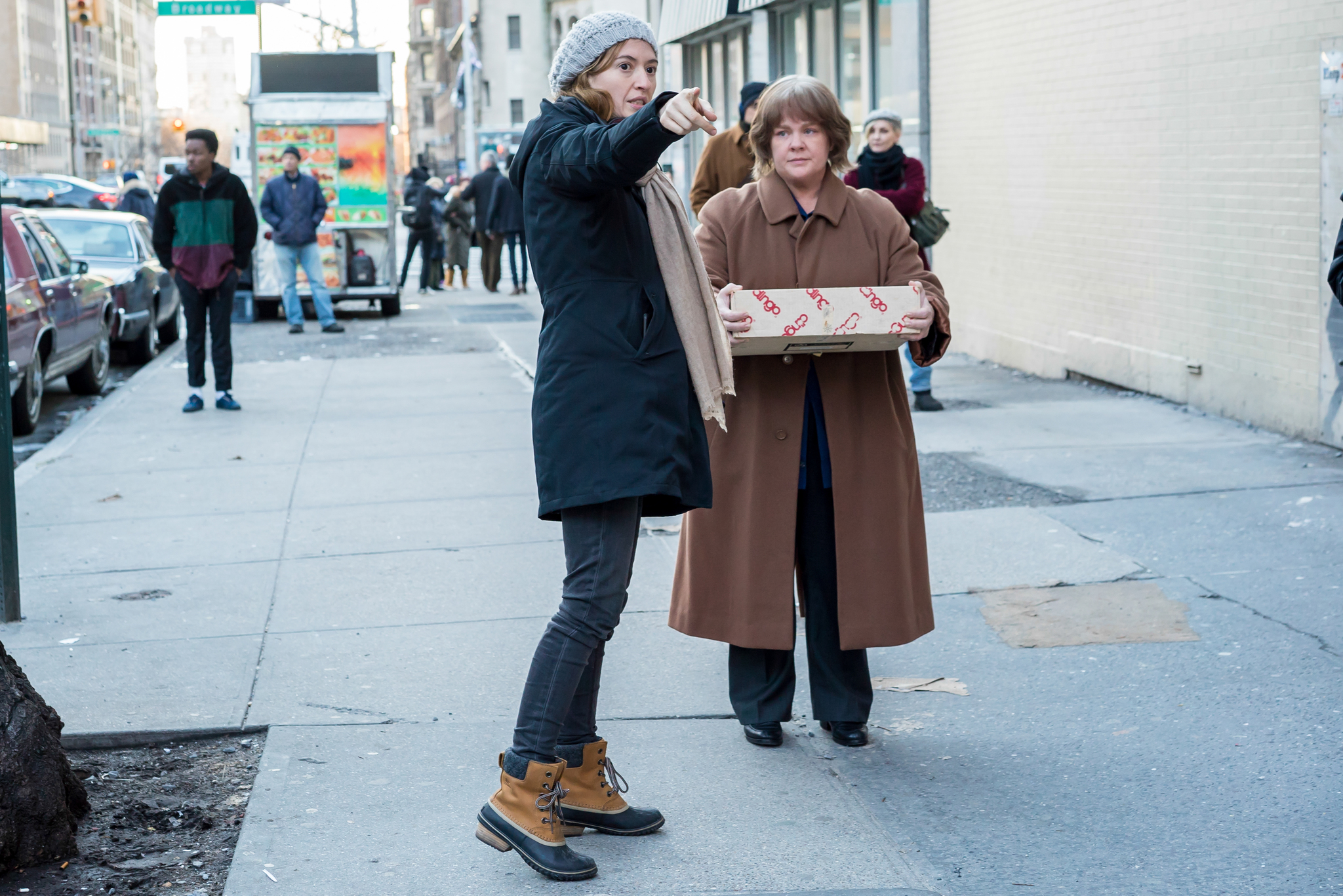 Melissa McCarthy and Marielle Heller in Women Directors on Set (2020)