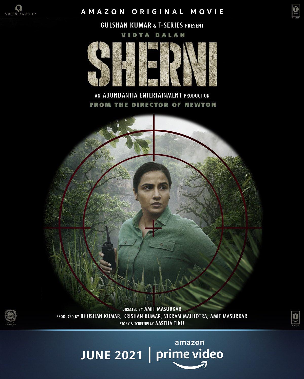 Sherni (2021) Hindi Movie Official Trailer 1080p AMZN HDRip Free Download