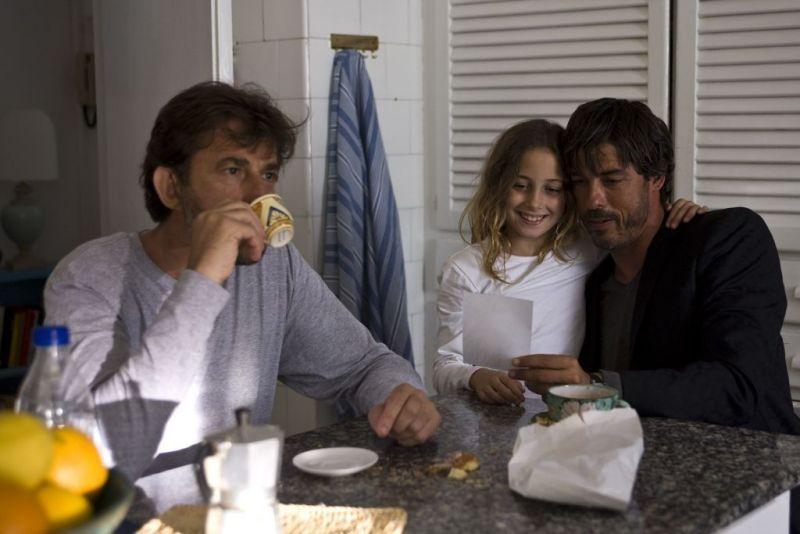 Alessandro Gassmann, Nanni Moretti, and Blu Yoshimi in Caos calmo (2008)