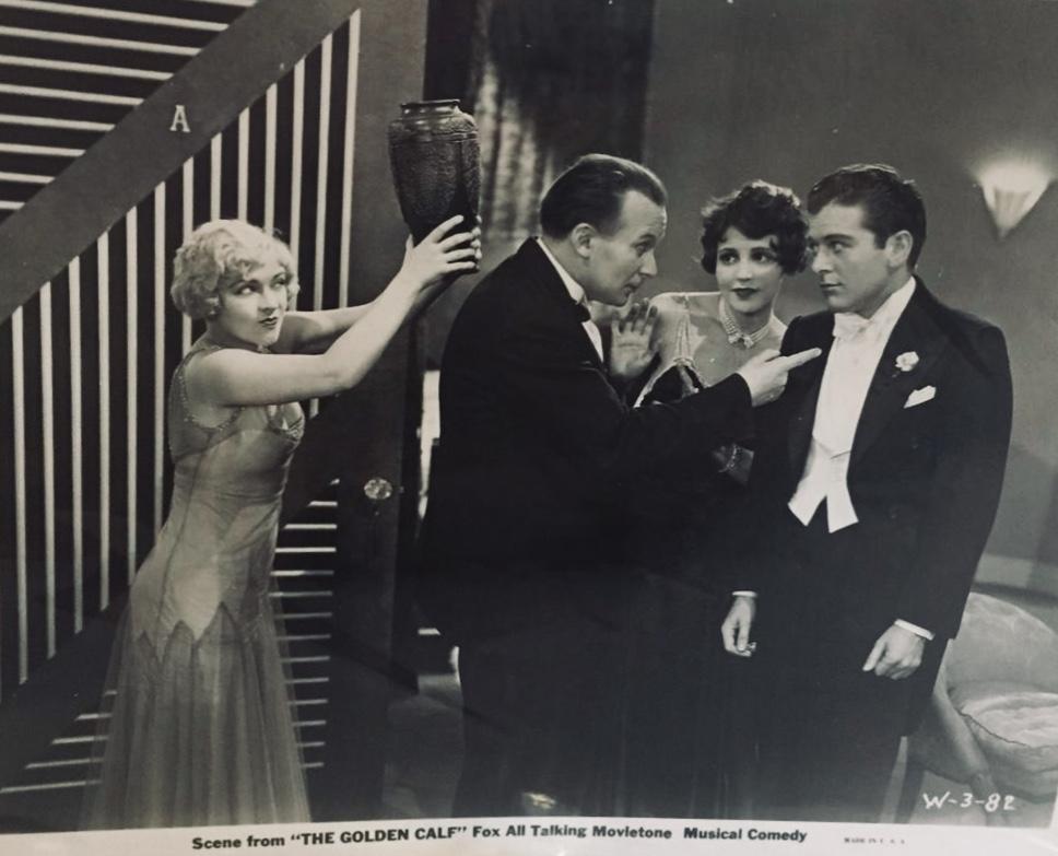 El Brendel, Sue Carol, Richard Keene, and Marjorie White in Her Golden Calf (1930)