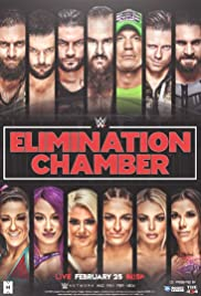 WWE Elimination Chamber Poster