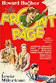 The Front Page(1931) Poster - Movie Forum, Cast, Reviews