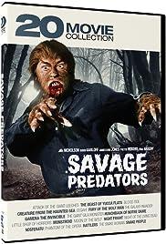 Savage Predators: 20 Movie Collection Poster