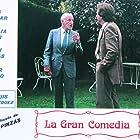 Luis Escobar and Juan Pinzás in La gran comedia (1988)