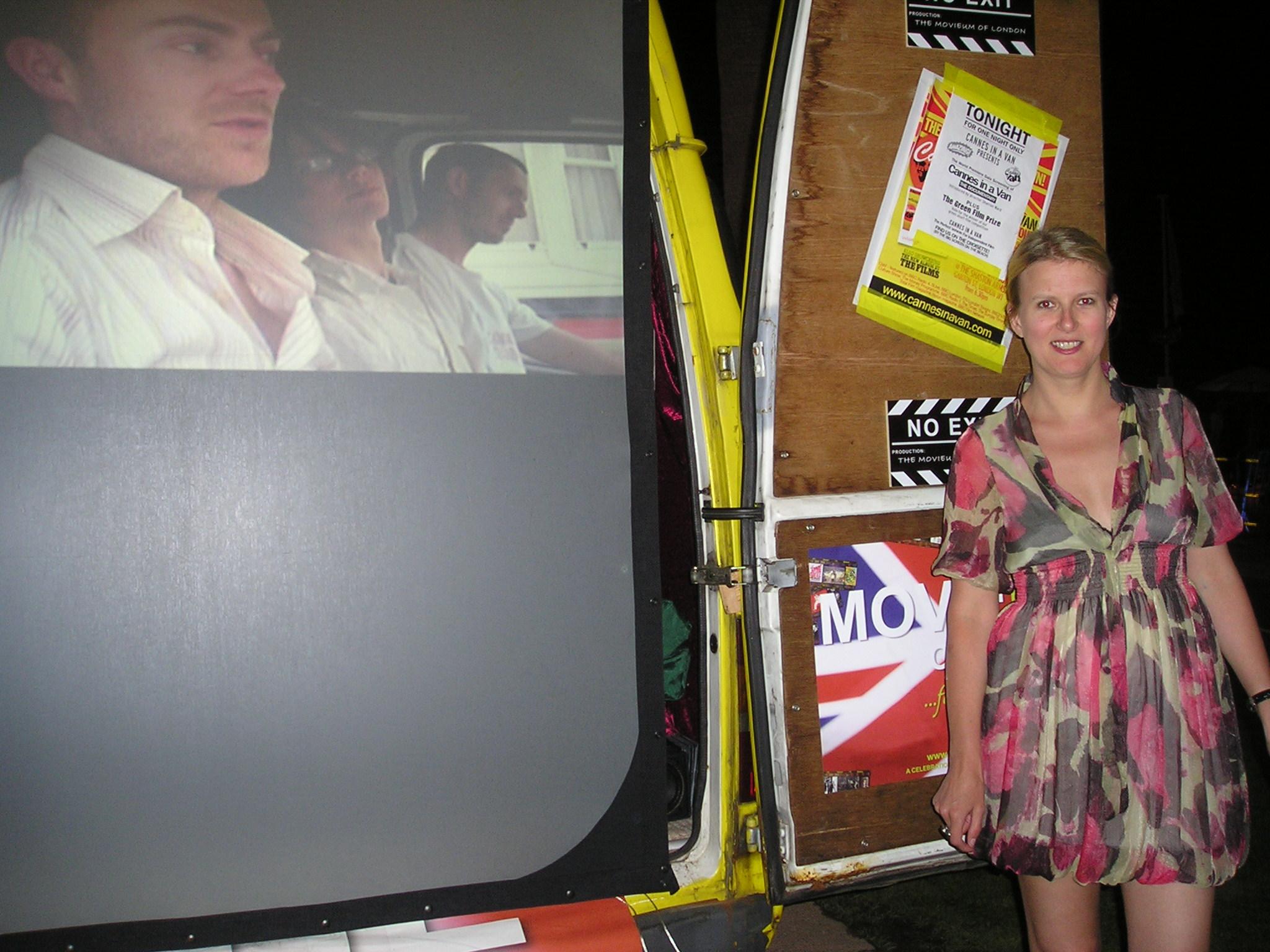 Sharron Ward in Cannes in a Van (2008)