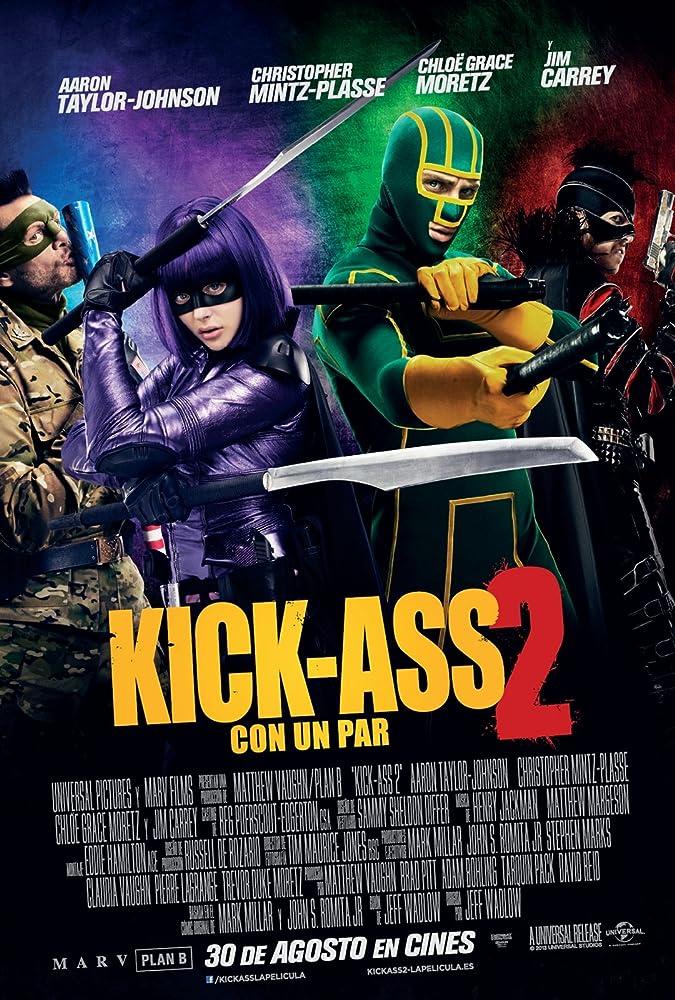 Kick Ass 2 (2013) Hindi Dubbed