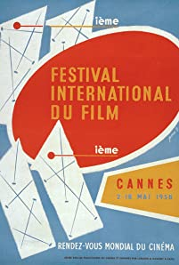 1958 Cannes Film Festival poster