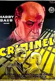 Criminel Poster