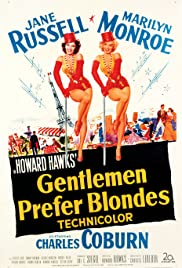 Gentlemen Prefer Blondes (1953) Poster - Movie Forum, Cast, Reviews