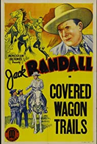 Jack Randall and Rusty the Horse in Covered Wagon Trails (1940)