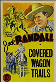 Covered Wagon Trails Poster