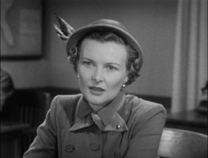 Louise Currie in Racket Squad (1950)