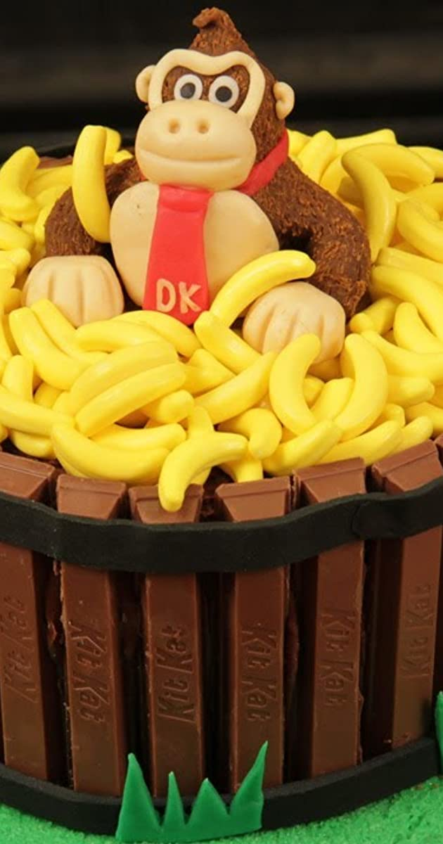 Tremendous Nerdy Nummies Donkey Kong Cake Tv Episode 2012 Photo Gallery Funny Birthday Cards Online Amentibdeldamsfinfo