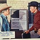 Lex Barker and Trevor Bardette in The Man from Bitter Ridge (1955)