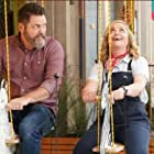 Nick Offerman and Amy Poehler in Make Yourself at Home (2021)