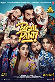 Anil Kapoor, Arshad Warsi, Saurabh Shukla, John Abraham, Ileana D'Cruz, Kriti Kharbanda, Pulkit Samrat, and Urvashi Rautela in Pagalpanti (2019)