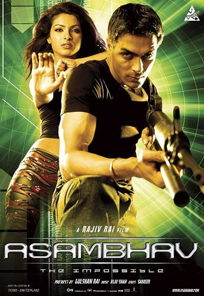 Asambhav 2004 Hindi 720p HDRip 950MB ESubs Download