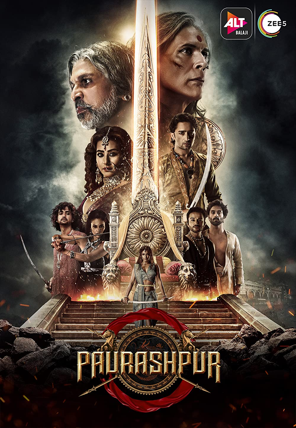 18+ Paurashpur 2020 Hindi ALTBalaji Complete Web Series 720p HDRip 900MB & 450MB Download