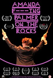 Amanda F***Ing Palmer on the Rocks Poster