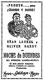 Noche de duendes (1930) Poster
