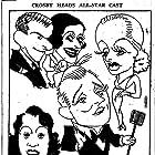 Bing Crosby, Carole Lombard, Gracie Allen, George Burns, and Ethel Merman in We're Not Dressing (1934)