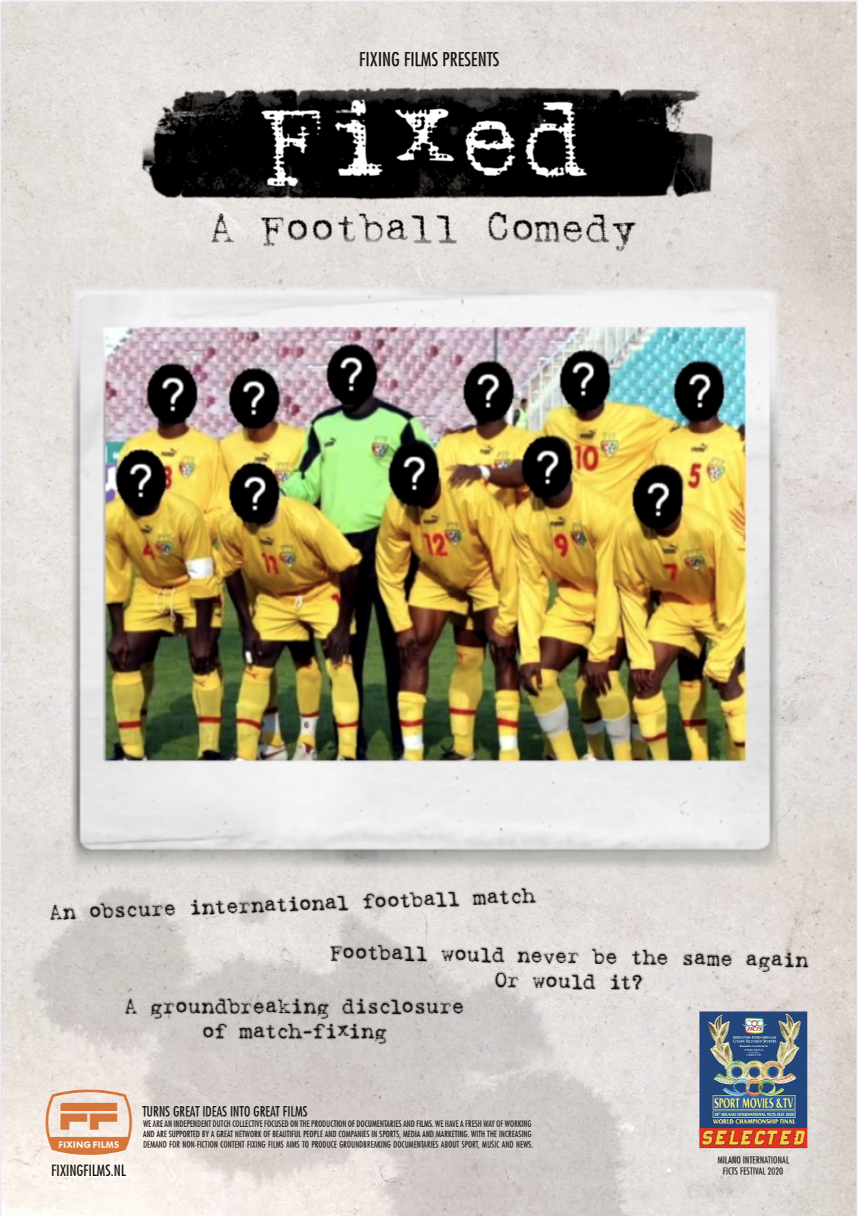 Fixed: A Football Comedy hd on soap2day