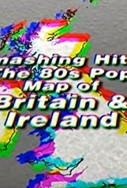 Smashing Hits! The 80s Pop Map of Britain & Ireland Poster