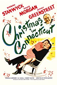 Barbara Stanwyck, Sydney Greenstreet, and Dennis Morgan in Christmas in Connecticut (1945)