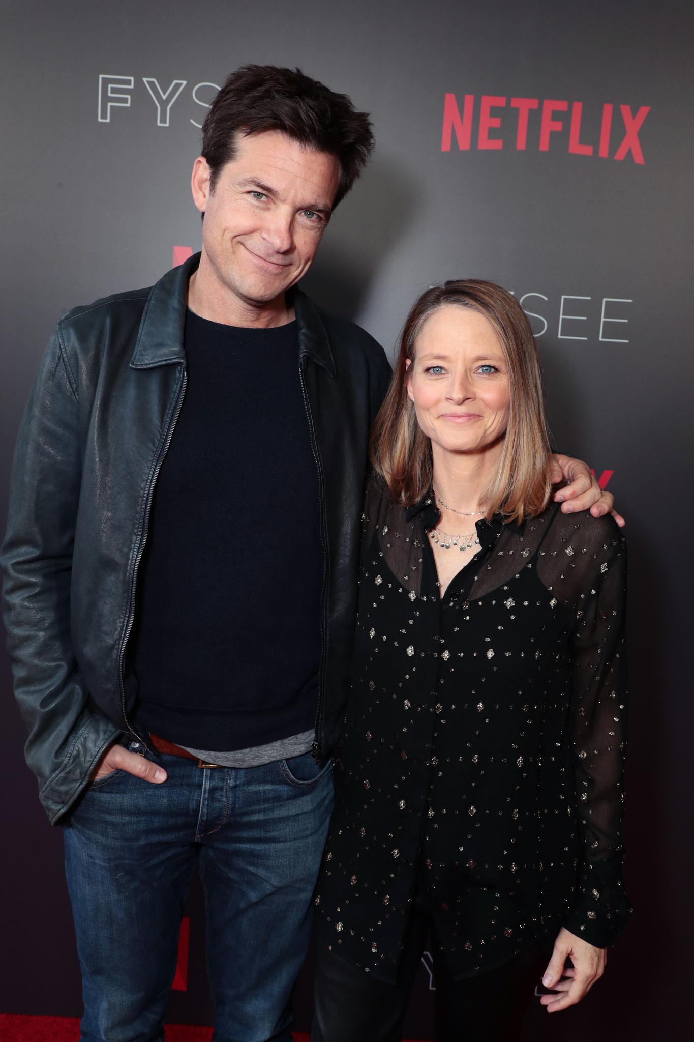 Jodie Foster and Jason Bateman at an event for Black Mirror (2011)