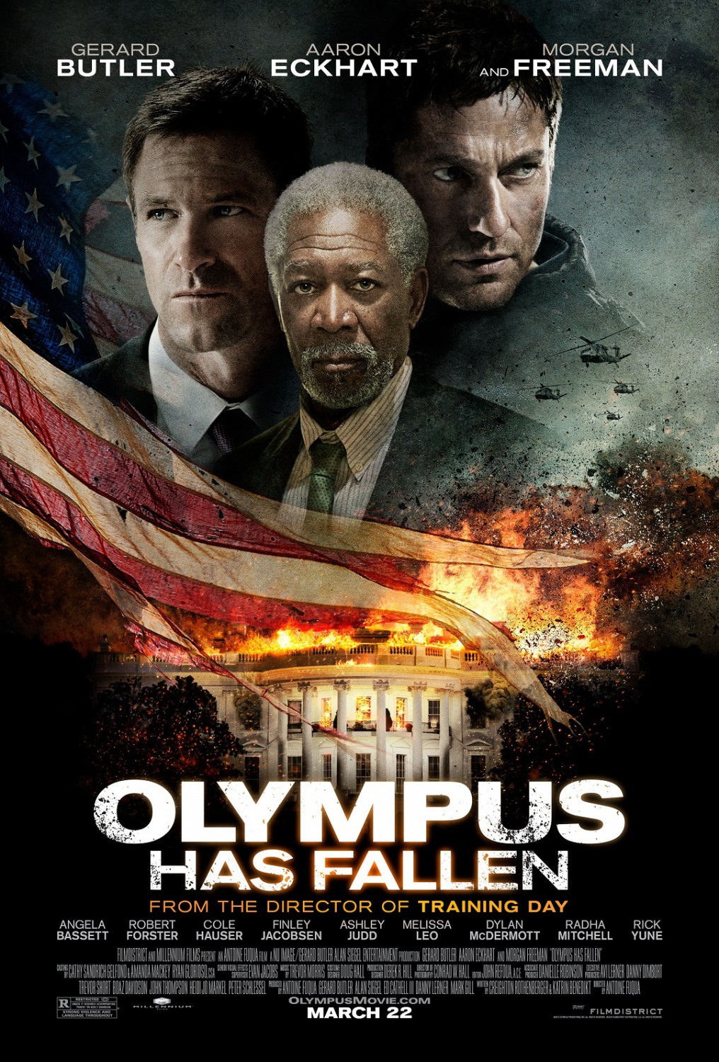 Olympus Has Fallen 2013 Hindi Dual Audio 400MB BluRay ESubs Download