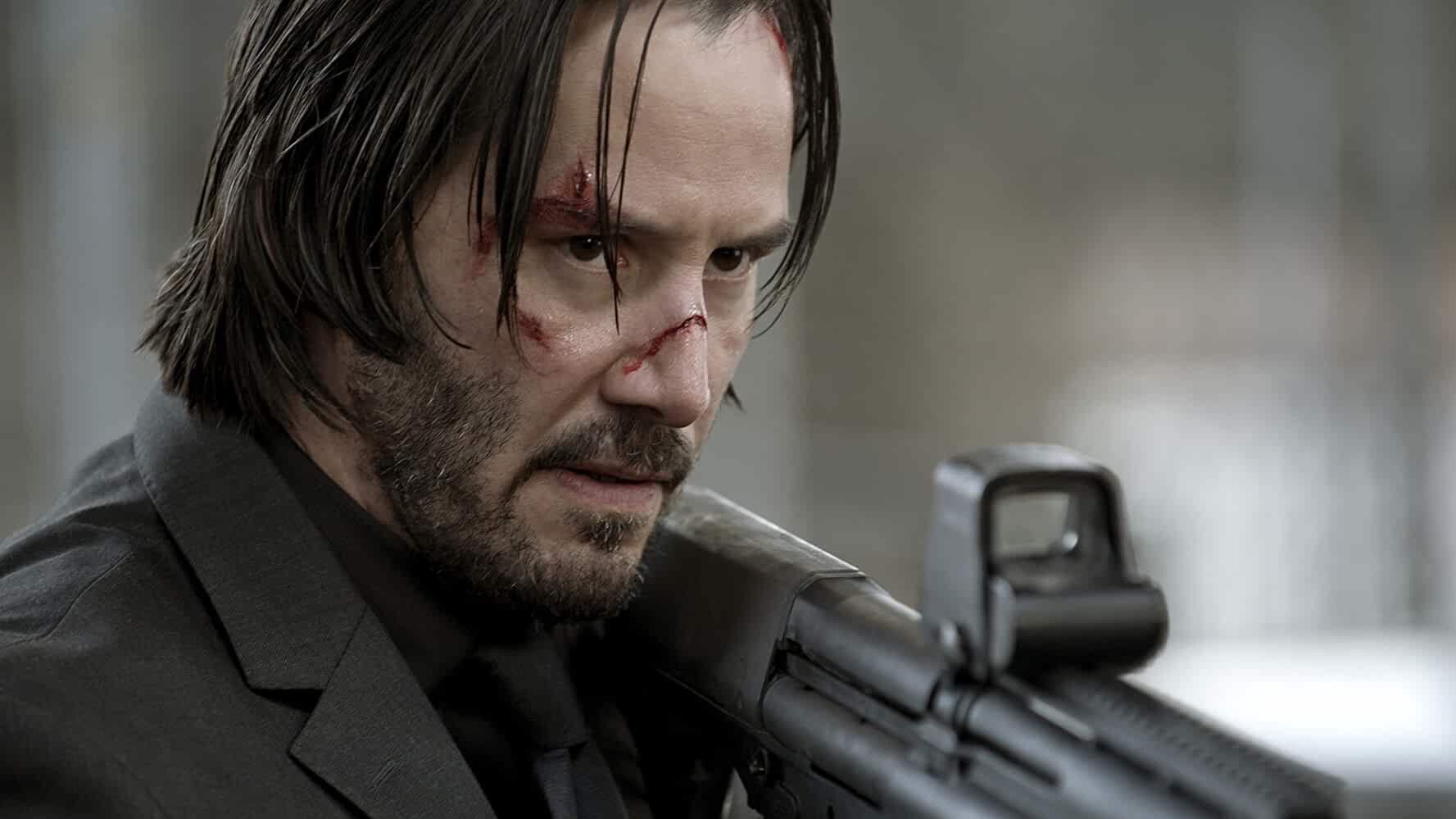 Keanu Reeves in John Wick 2014