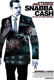 Matias Varela, Joel Kinnaman, Dragomir Mrsic, and Lisa Henni in Snabba cash (2010)