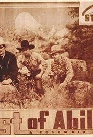 West of Abilene Poster