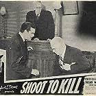 Harry Cheshire, John Elliott, Edmund MacDonald, and Russell Wade in Shoot to Kill (1947)