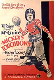Mickey's Touchdown Poster