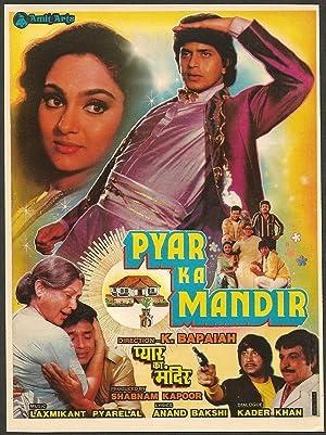 Gyandev Agnihotri (story) Pyar Ka Mandir Movie