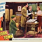Eric Blore, Fred MacMurray, Mary Martin, and Akim Tamiroff in New York Town (1941)