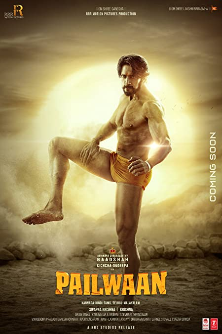 Pailwaan (2019) Dual Audio [Hindi+Kannada 2.0] 720p WEB-HDRip x265 AAC