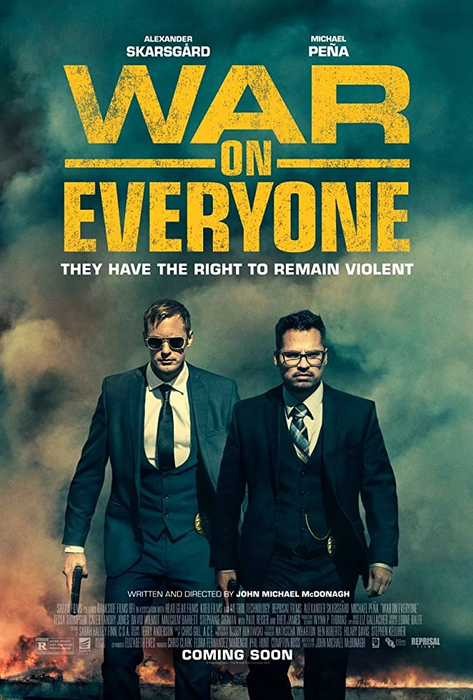 فيلم War on Everyone مترجم